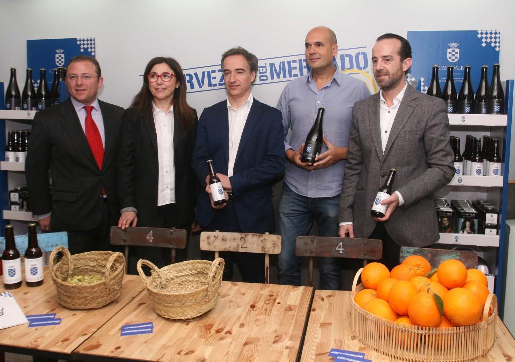 Alvaro Gutierrez, Anabel Navas, David Pérez, Juan Cereijo, Paco Valls