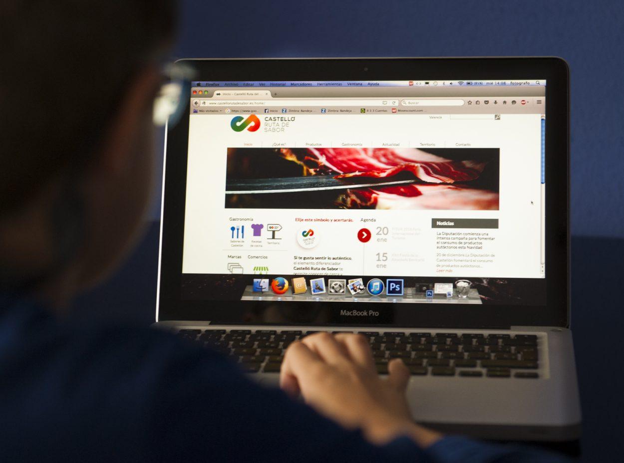 La Diputación renueva la web de Castelló Ruta de Sabor como plataforma de visibilidad y venta de los productos de Castellón
