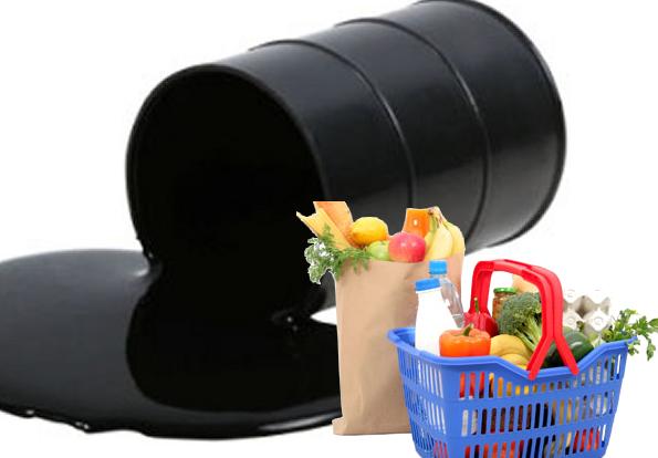 Alimentos básicos más caros que el petróleo