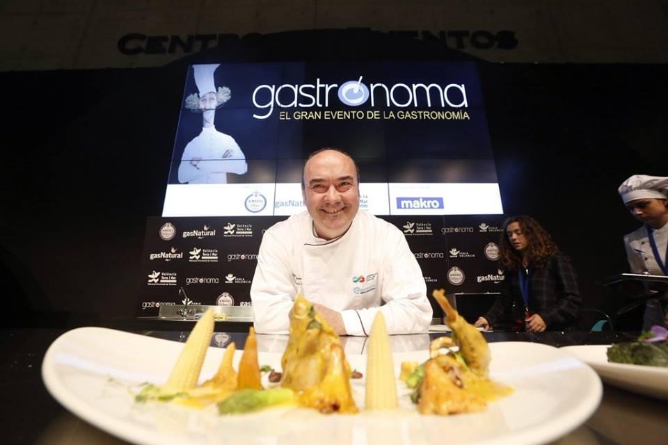 El chef Miguel Barrera