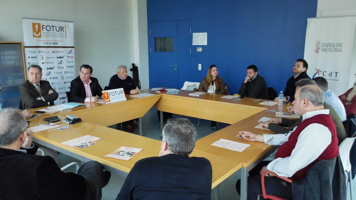 El CdT de Valencia acogió la celebración de la Asamblea General de FOTUR