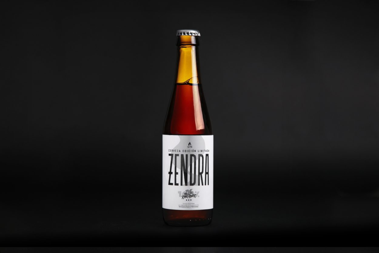 Bierwinkel presenta en las Cervezas del Mercado la nueva valenciana Zendra: centeno, humo y edición limitada