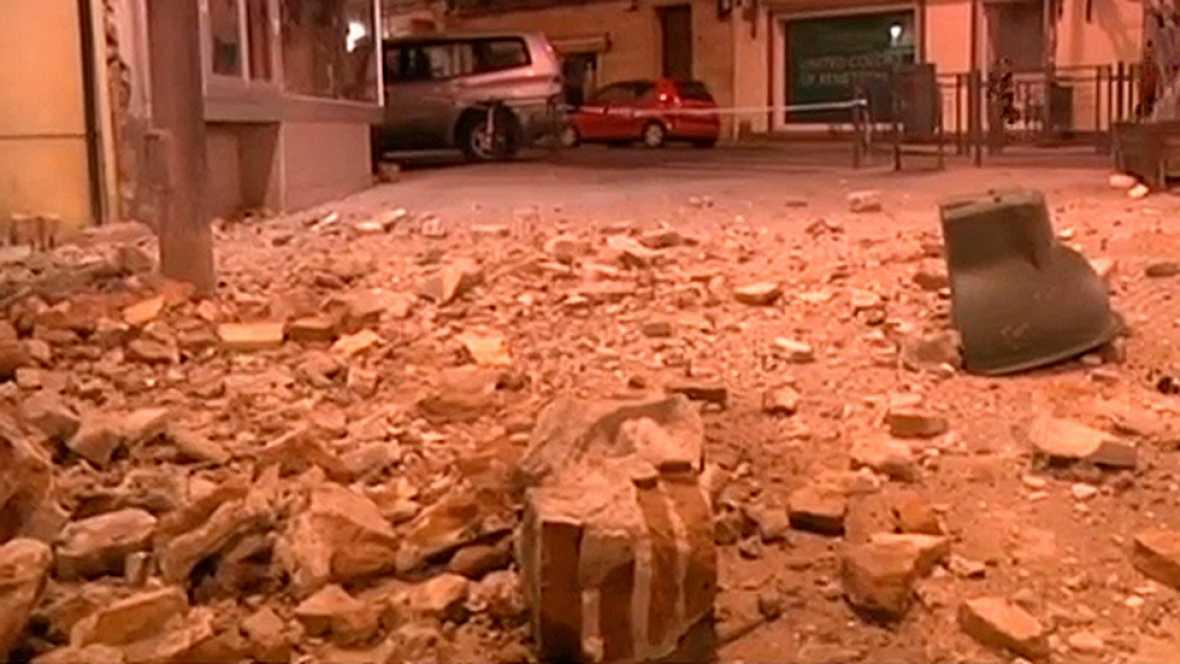 Al menos 26 heridos leves en Melilla por un terremoto de 6,3 grados en el Mar de Alborán