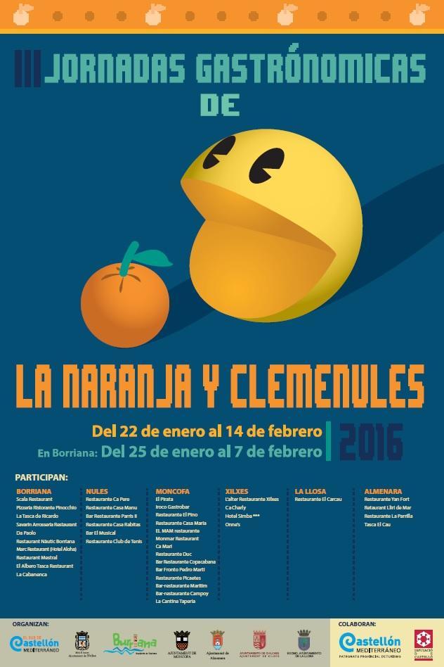 La Llosa participa en las III Jornadas gastronómicas de la naranja y clemenules