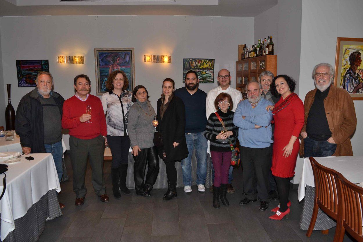 El artista Melchor Zapata imprime su personalidad al restaurante Arbequina del chef Modesto Fabregat