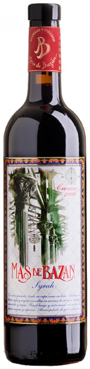 Mas de Bazán Syrah, un vino complejo y rico en matices