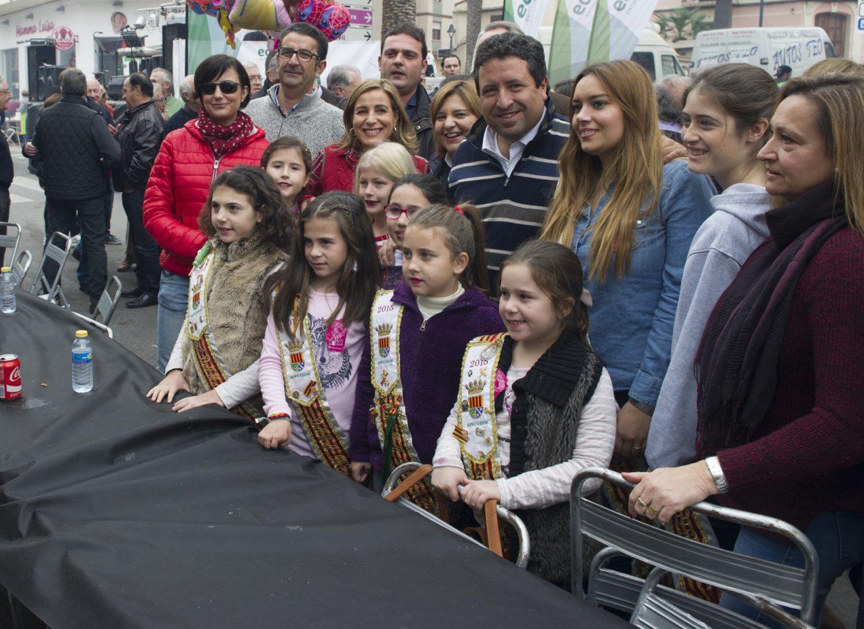 Moliner participa en el Día de las Paellas de Benicàssim, fiesta declarada de Interés Turístico Provincial