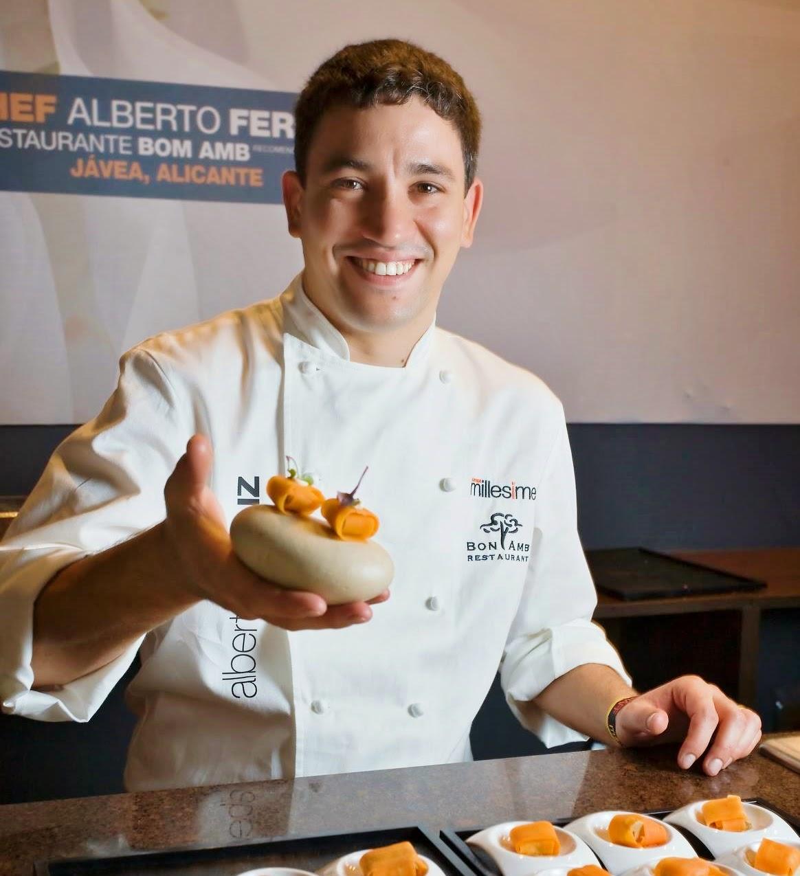 Alberto Ferruz, elegido mejor cocinero valenciano 2015