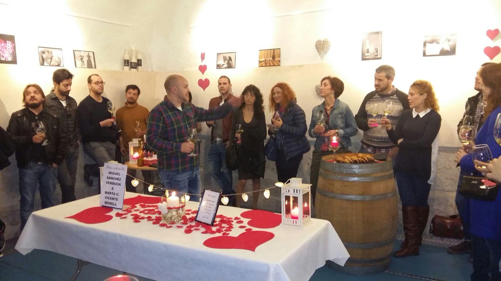 Éxito de las catas de vino en Cheste
