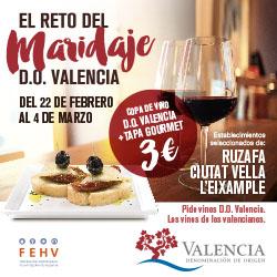 La DOP Valencia pone en marcha el I Reto del Maridaje