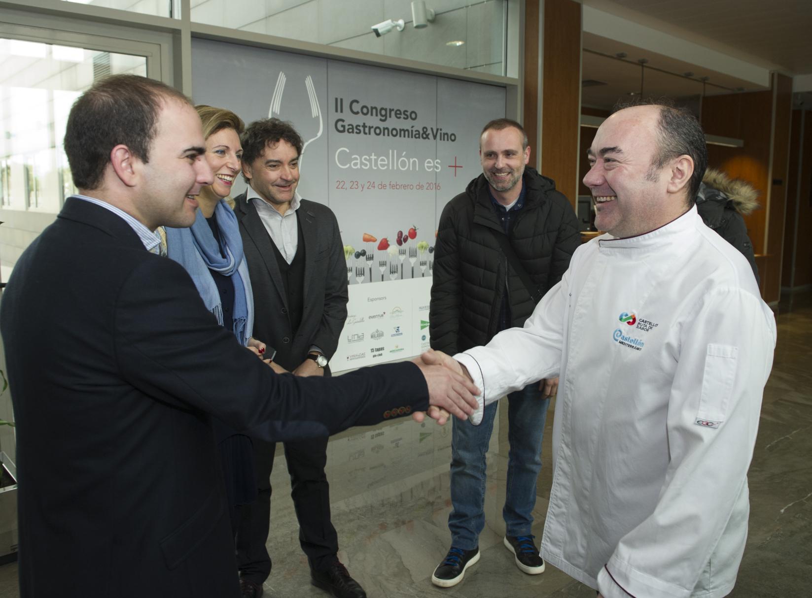 El Gobierno Provincial posiciona los productos autóctonos de la mano de Miguel Barrera y Castelló Ruta de Sabor en el II Congreso Gastronomía & Vino de Castellón