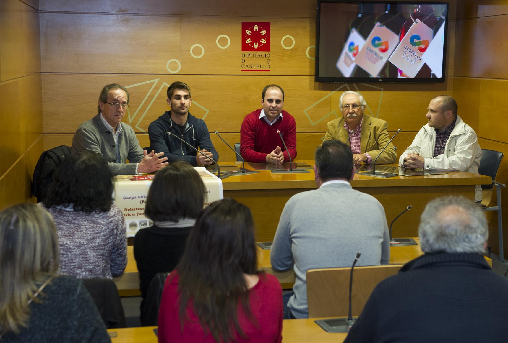 La Diputación fomenta el consumo de la gastronomía castellonsense en Magdalena con Castelló Ruta de Sabor