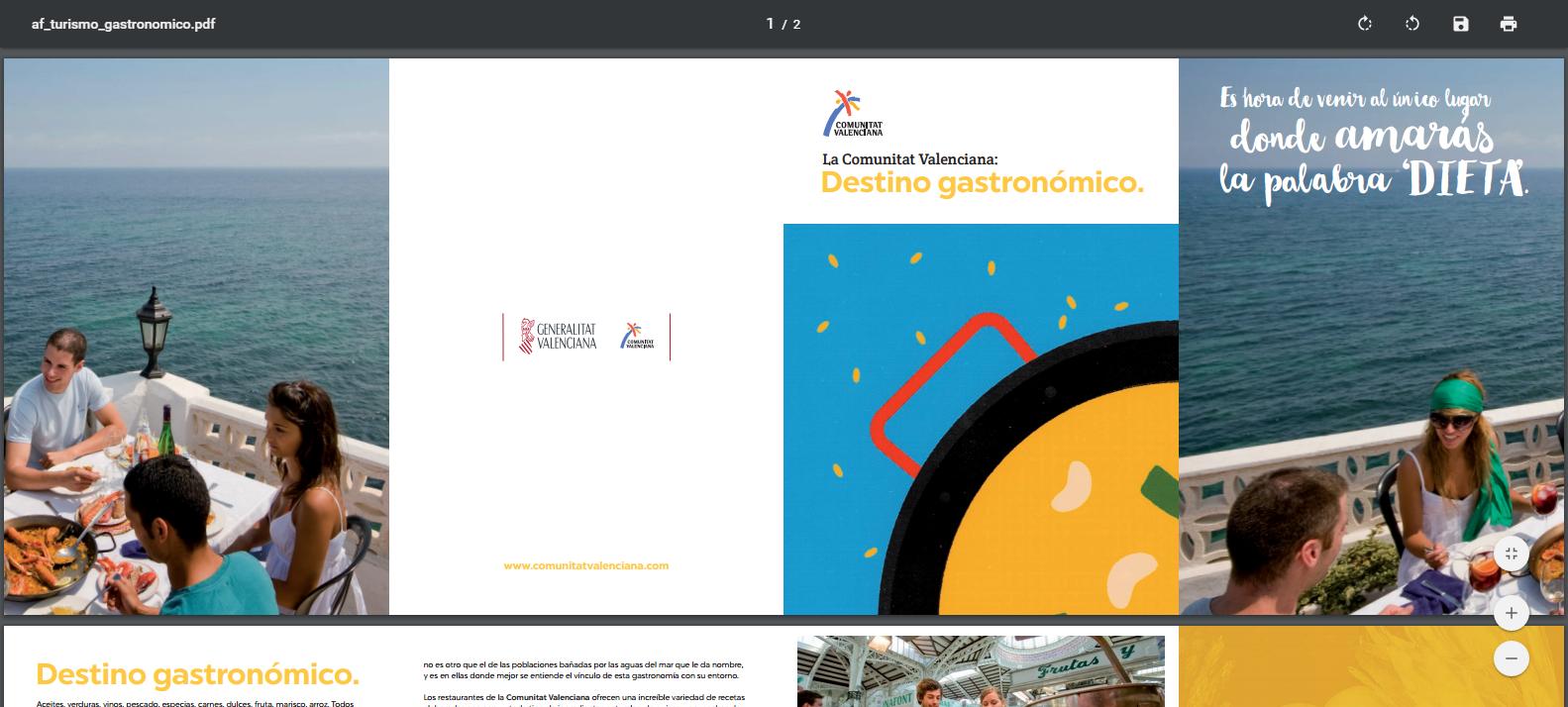 La Agència Valenciana del Turisme edita una línea de publicaciones temáticas para dar a conocer sus nuevos productos y buscar nuevos segmentos