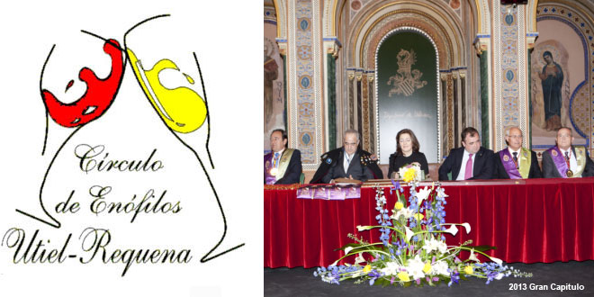 La ciudad de Valencia acoge este sábado el XXIII Gran Capítulo del Círculo de Enófilos Utiel-Requena