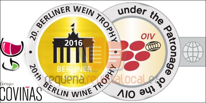 Los vinos de Coviñas obtienen tres medallas en el Berlin Wine Trophy