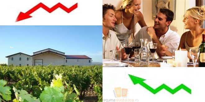 Aumenta el consumo de vino en hogares pero baja la rentabilidad vitivinicola
