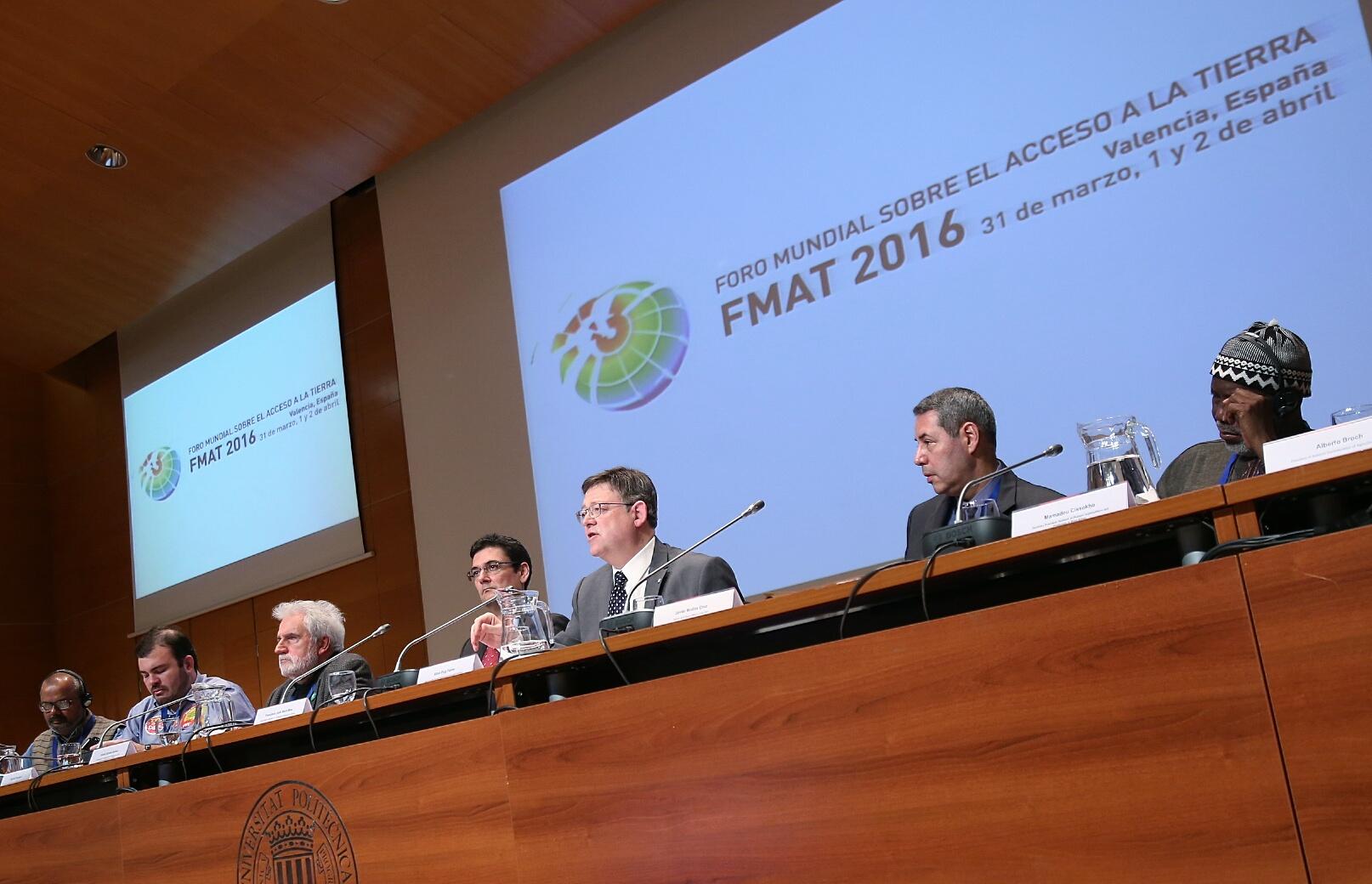 Puig: 'Promover el acceso universal a la alimentación y al desarrollo sostenible es una urgencia moral'
