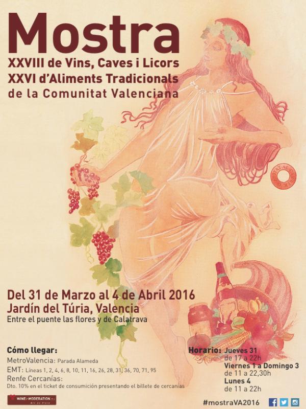 Hoy empieza la Mostra de Vins, Caves i Licors i Mostra d'Aliments Tradicionals de la Comunitat Valenciana