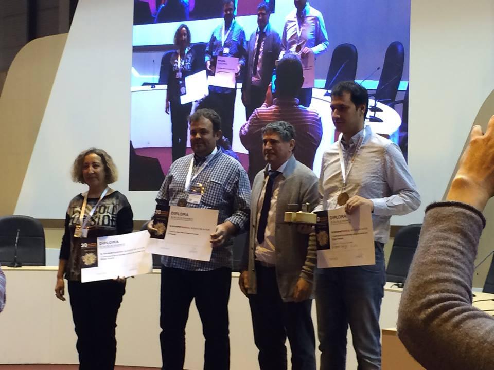 Los ganadores del queso Añejo, TOT DE POBLE se lleva el segundo premio, del mejor queso de España