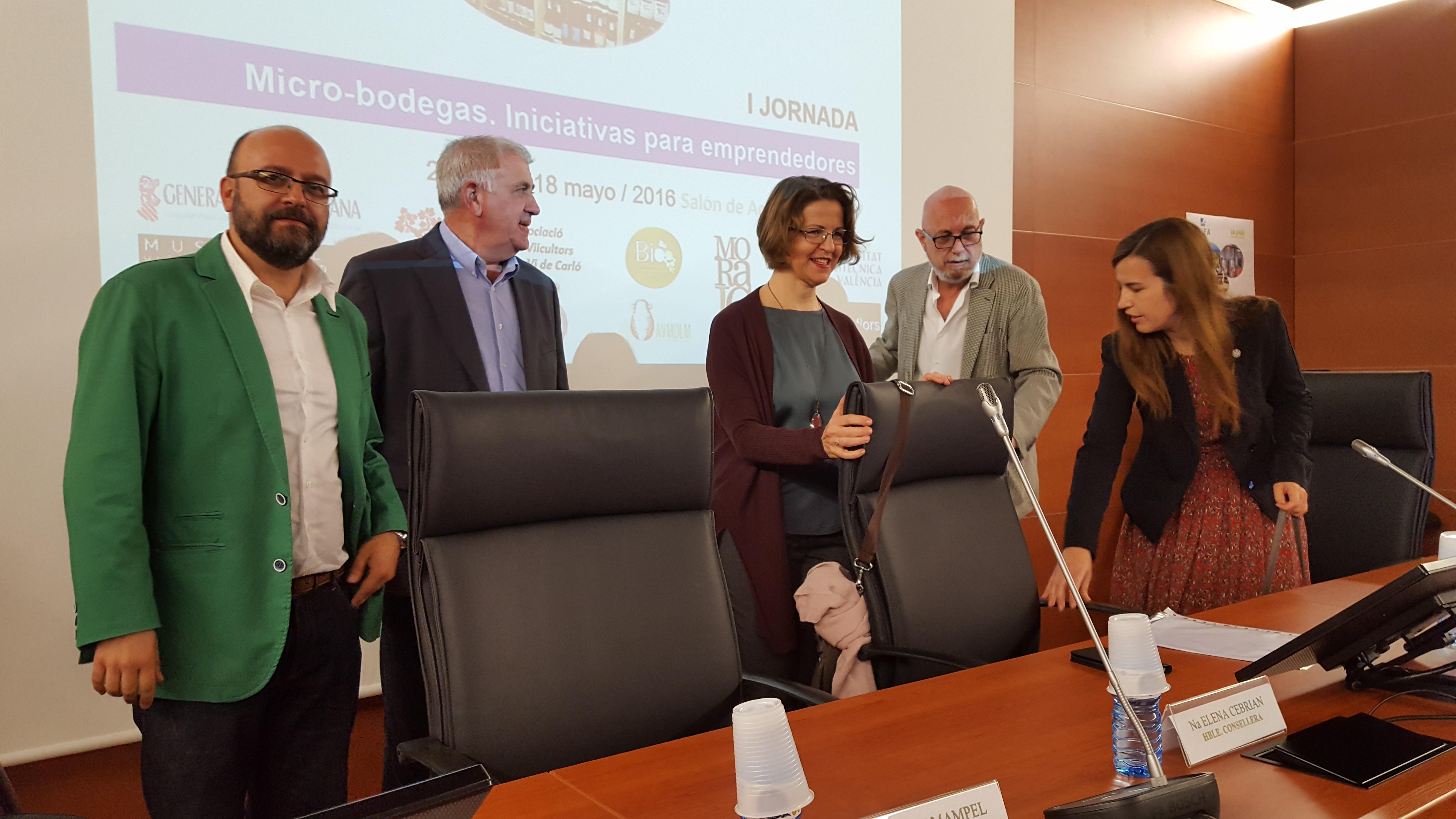 Elena Cebrián: 'Pequeños viticultores, microbodegas y emprendedores aportan al sector calidad diferenciada'