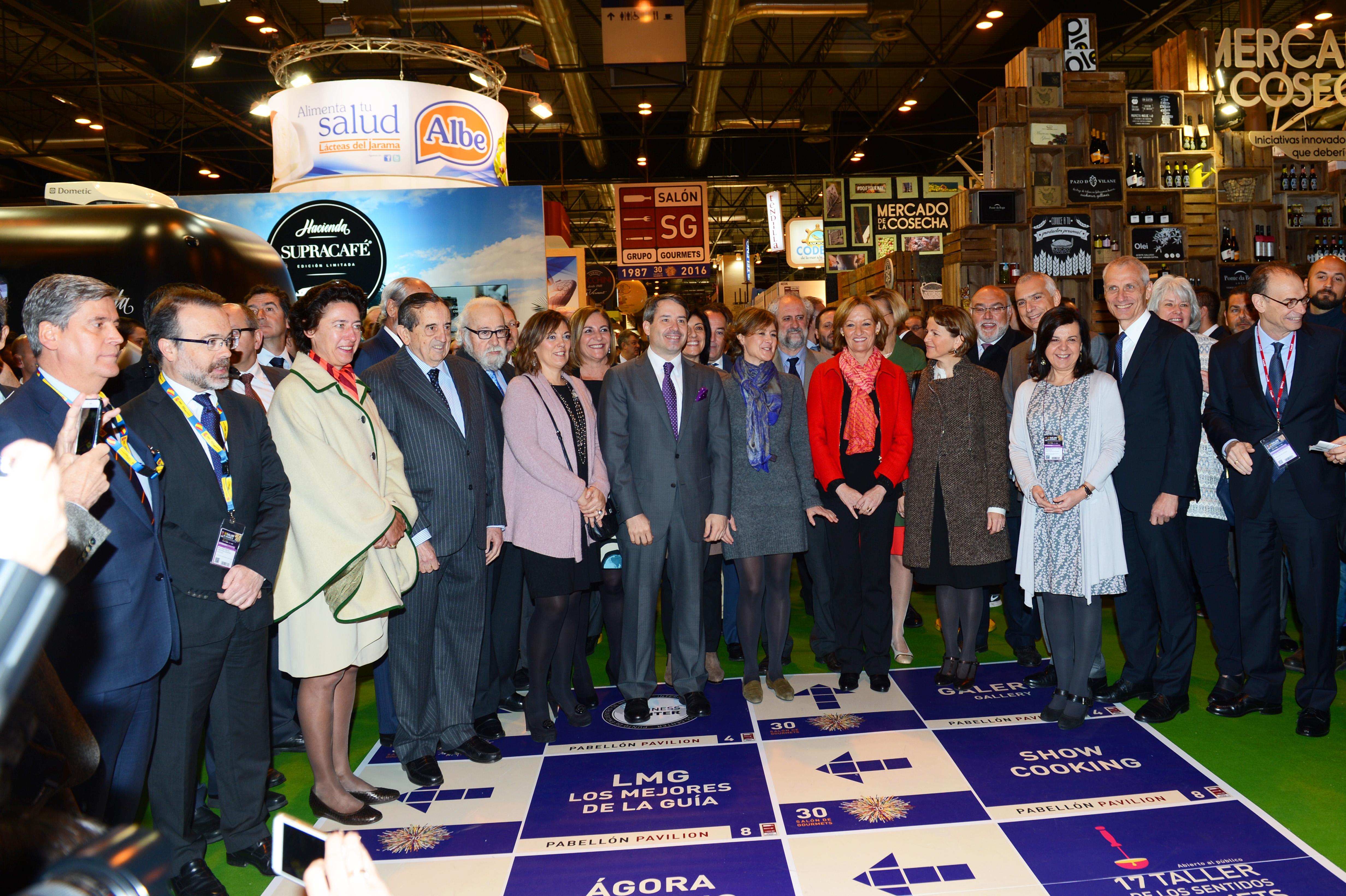 García Tejerina: El Salón de Gourmets es una referencia internacional para los productos de la máxima calidad españoles