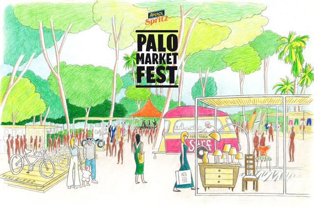 Palo Market Fest, el festival de ocio, cultura y comercio al aire libre, se estrena en Valencia
