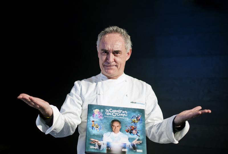 Ferran Adrià ve en Mickey al gran prescriptor de la cocina saludable