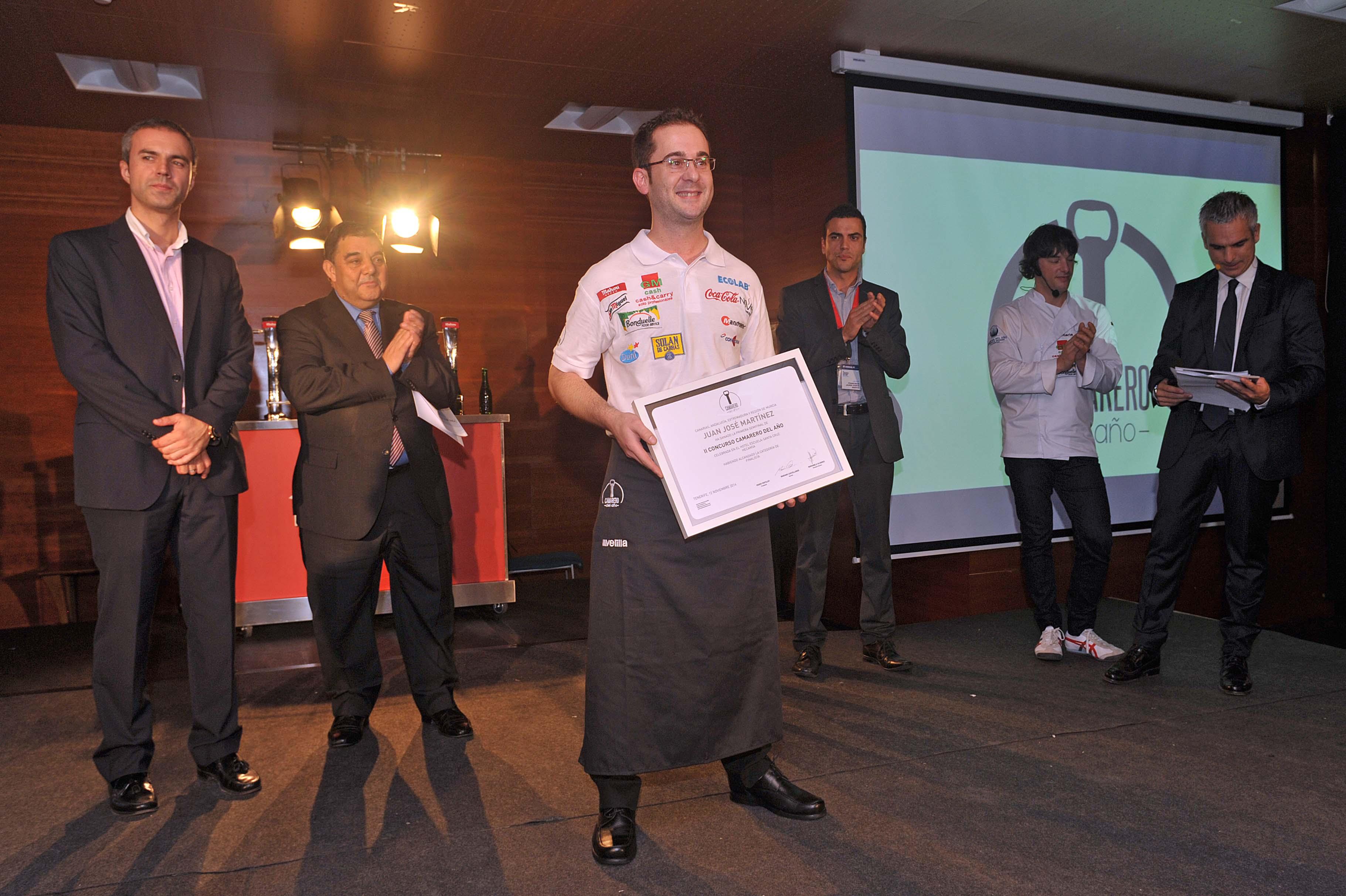 Se acerca la gran final delVI Concurso Cocinero del Año con Raúl Resino de Benicarló, entre ellos