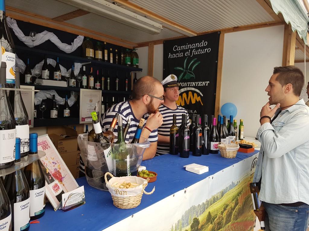 fotos de los expositores de la Mostra de Vins , cabes licors i Aliments de Valencia vinos cava alimentos (6)
