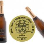 Cava Arts de Luna, medalla de oro en el Challenge International du Vin