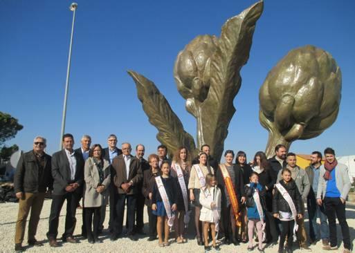 Ciudadanos (C's) de Benicarló critica el sobrecoste desmedido de otro monumento a la alcachofa