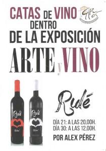 """Se inaugura la exposición """"Arte y Vino"""""""