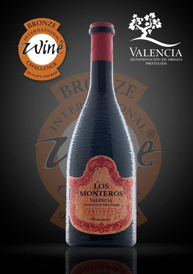 Los Monteros Crianza galardonado en el International Wine Challenge con medalla de bronce
