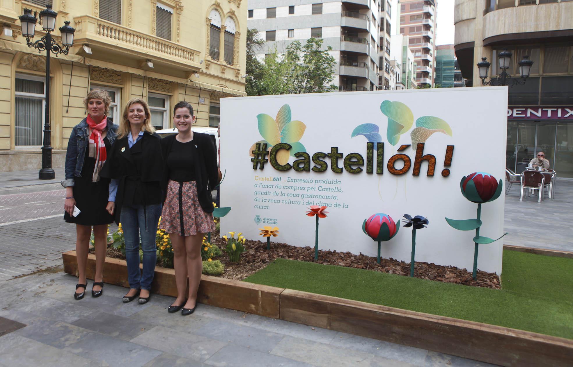 Castellón reivindica su imagen como ciudad comercial, gastronómica y cultural con una campaña de dinamización hasta finales de mayo