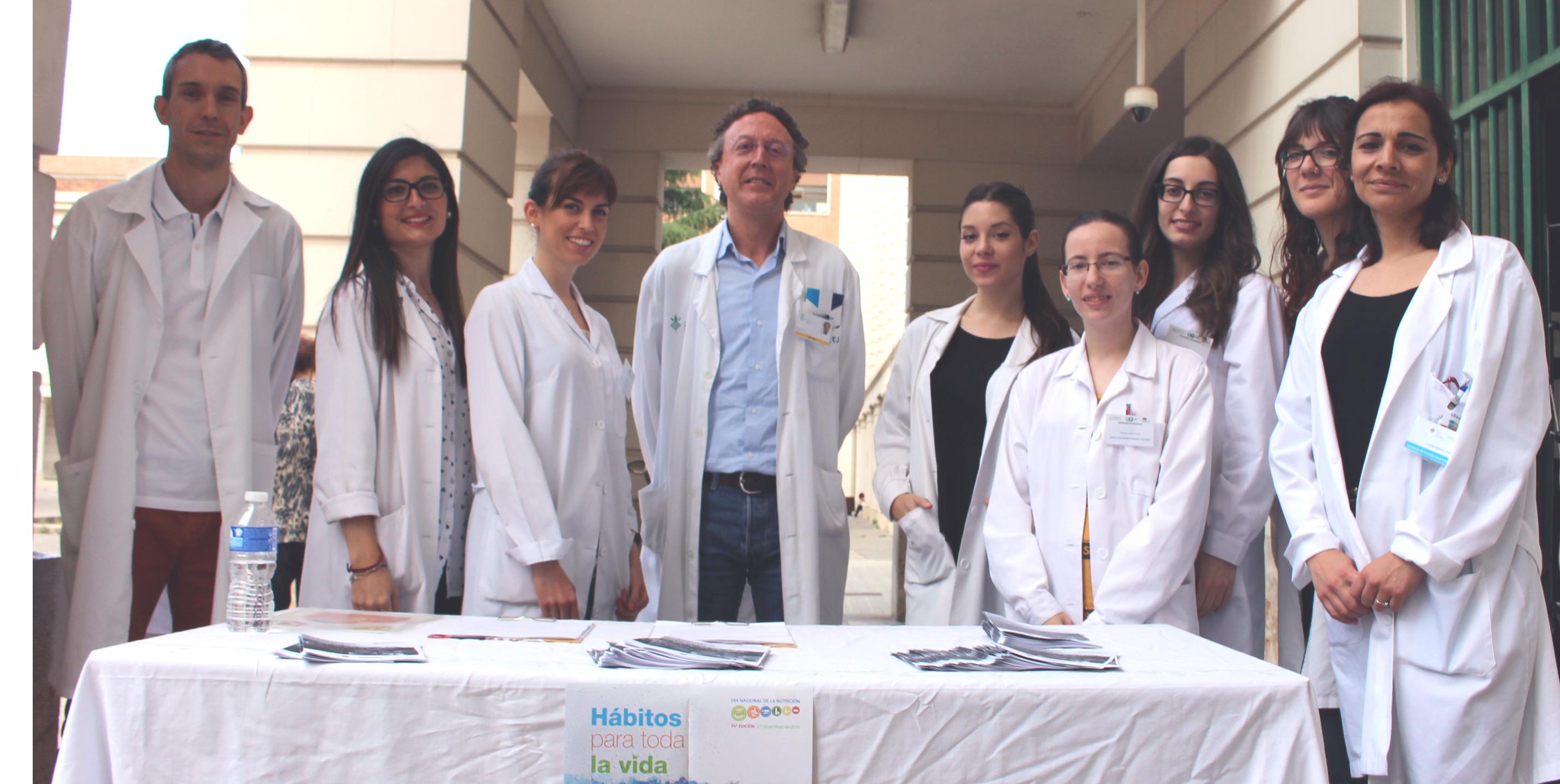 Endocrinos y nutricionistas del General de Valencia se suman al Día Nacional de la Nutrición
