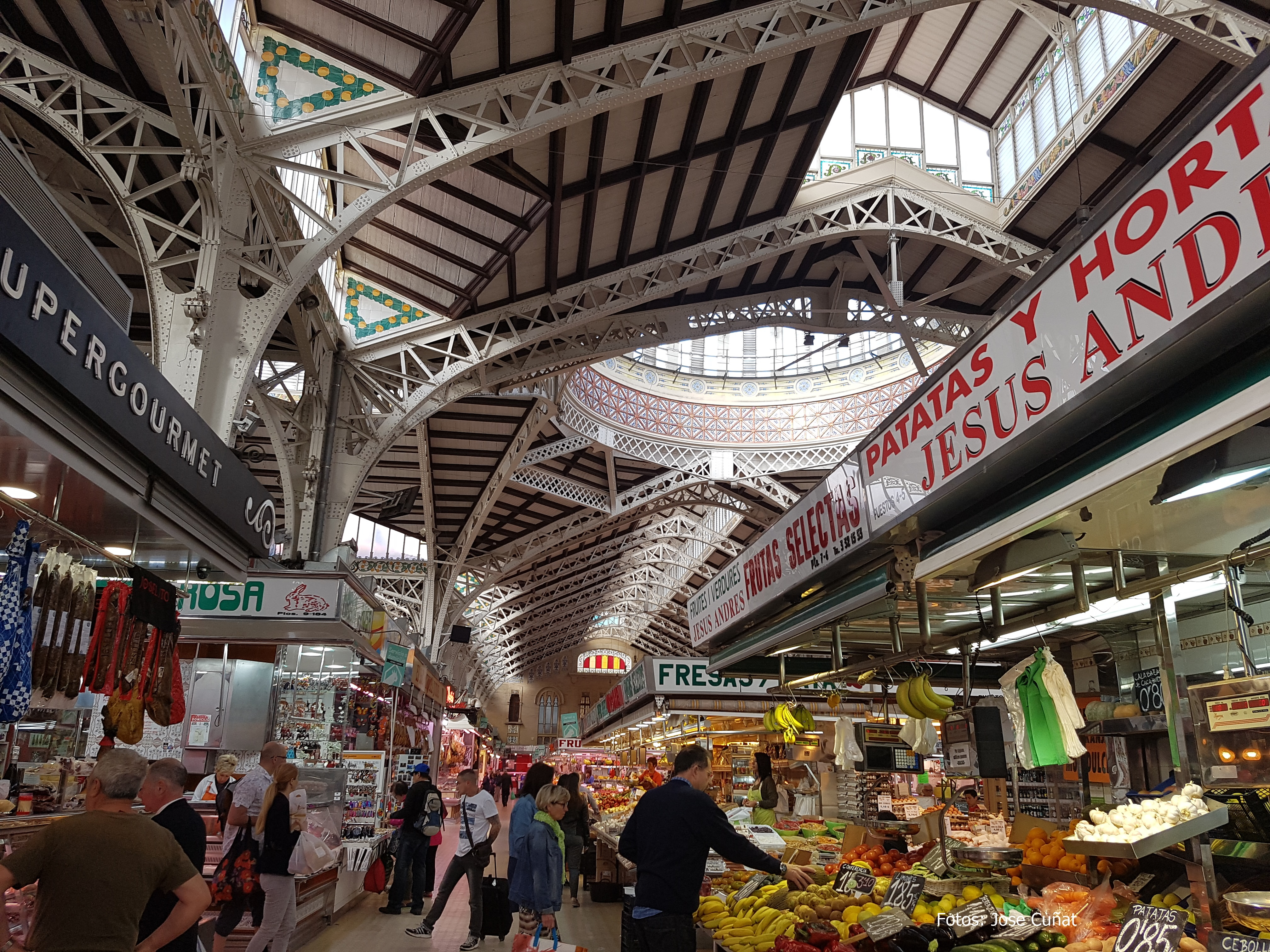 El mercado Central de Valencia entre los más bellos del mundo