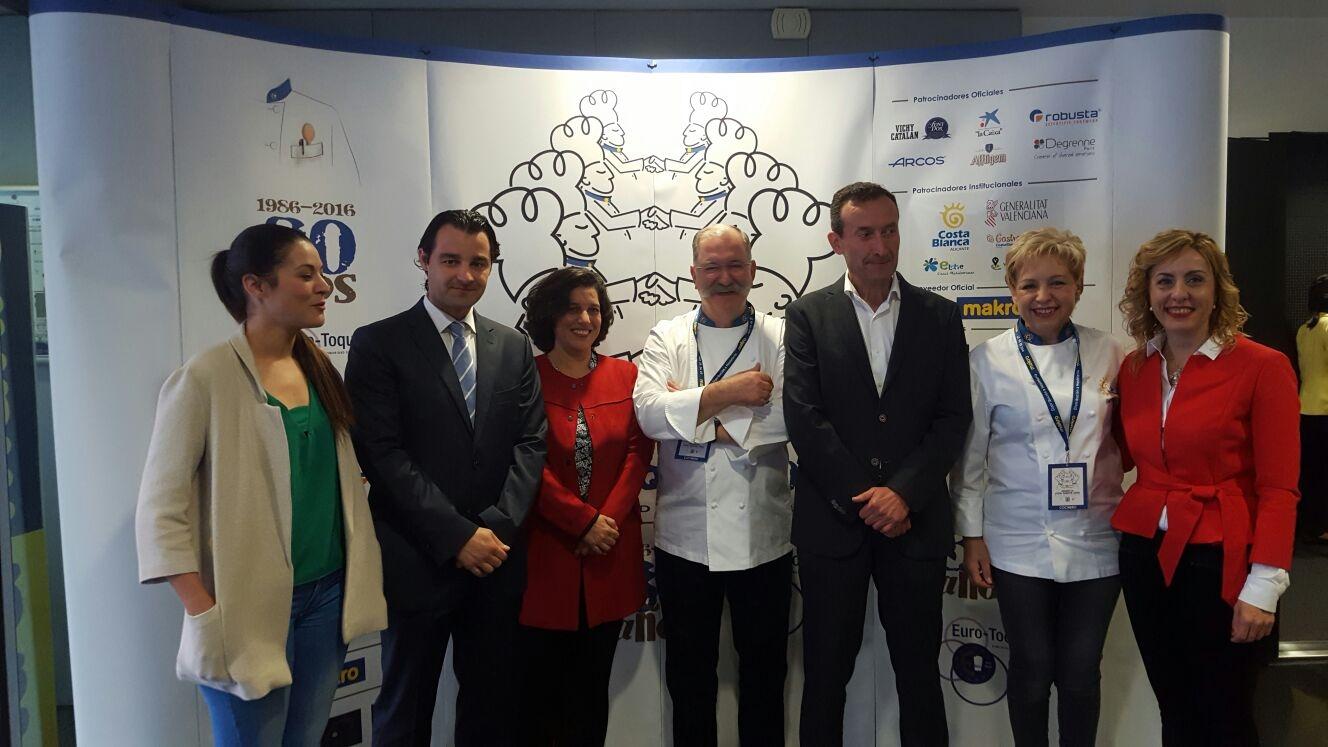 Huete destaca que la 'dieta mediterránea es nuestro principal tesoro y los cocineros son los mejores embajadores de la gastronomía de la Comunitat'