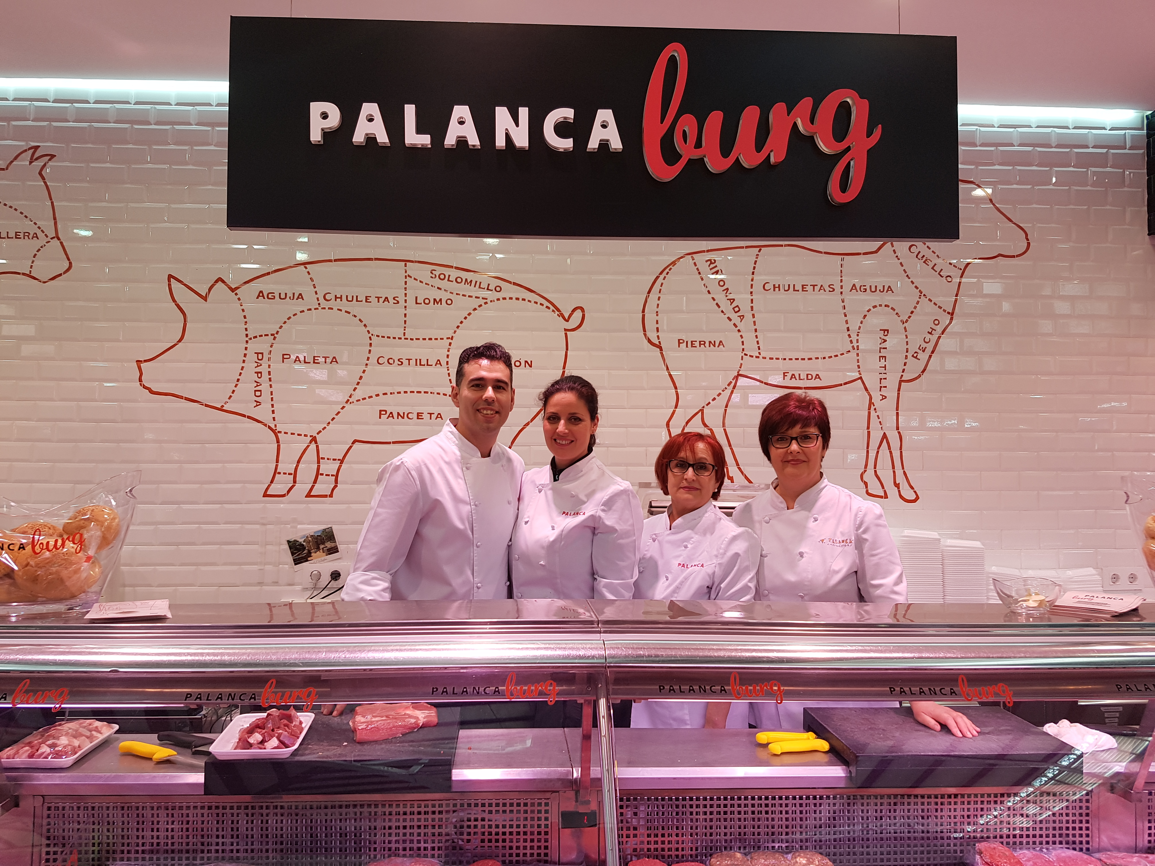 Palanca Carnissers desde 1914 en el Mercado Central de Valencia