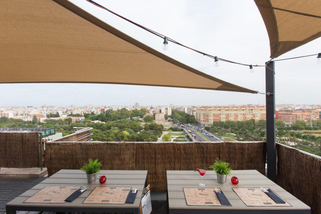 Terraza VLC Urban Club del Expo Hotel Valencia (11)