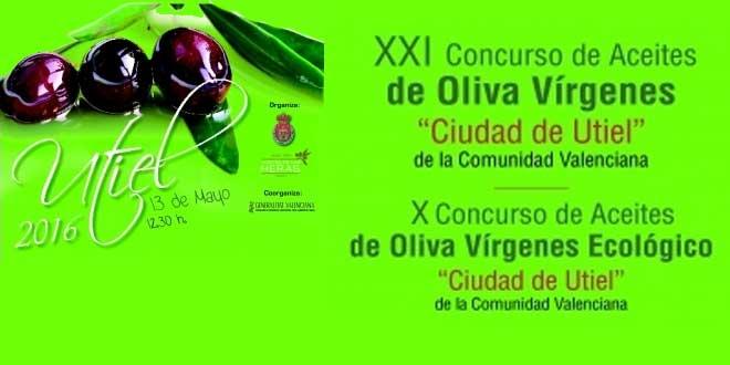 Utiel celebra el XXI Concurso de Aceite de Oliva Virgen y el X Concurso de Aceite de Oliva Virgen Ecológico