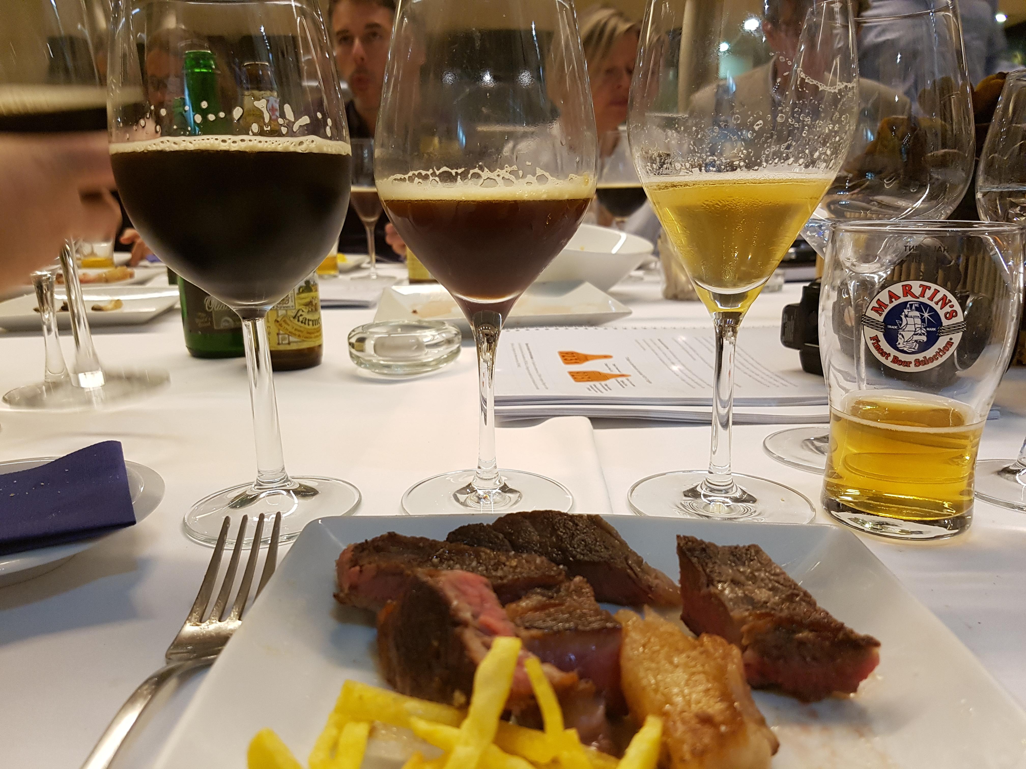 Maridar la carne con cerveza