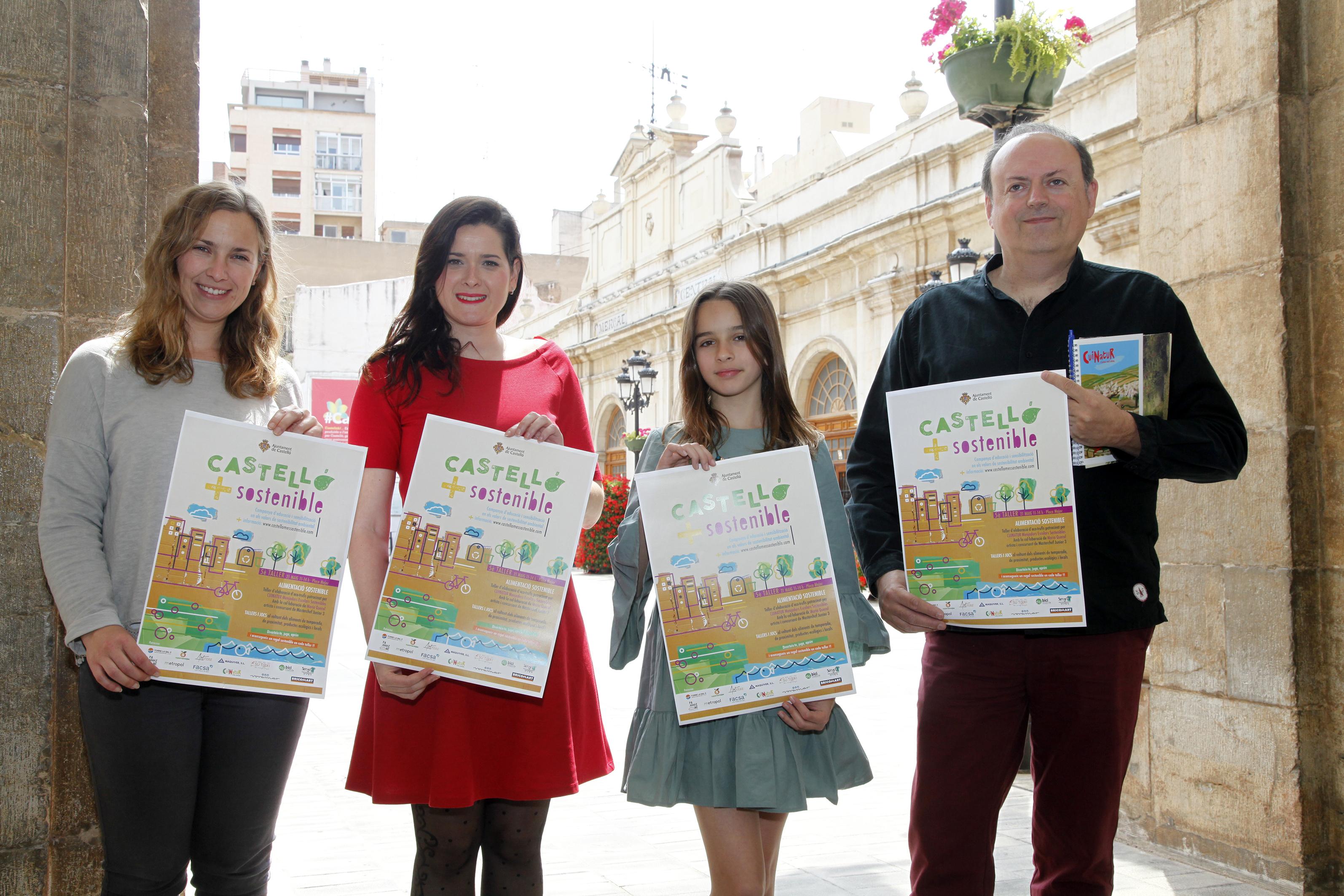 Castellón programa un showcooking en directo para fomentar la alimentación sostenible