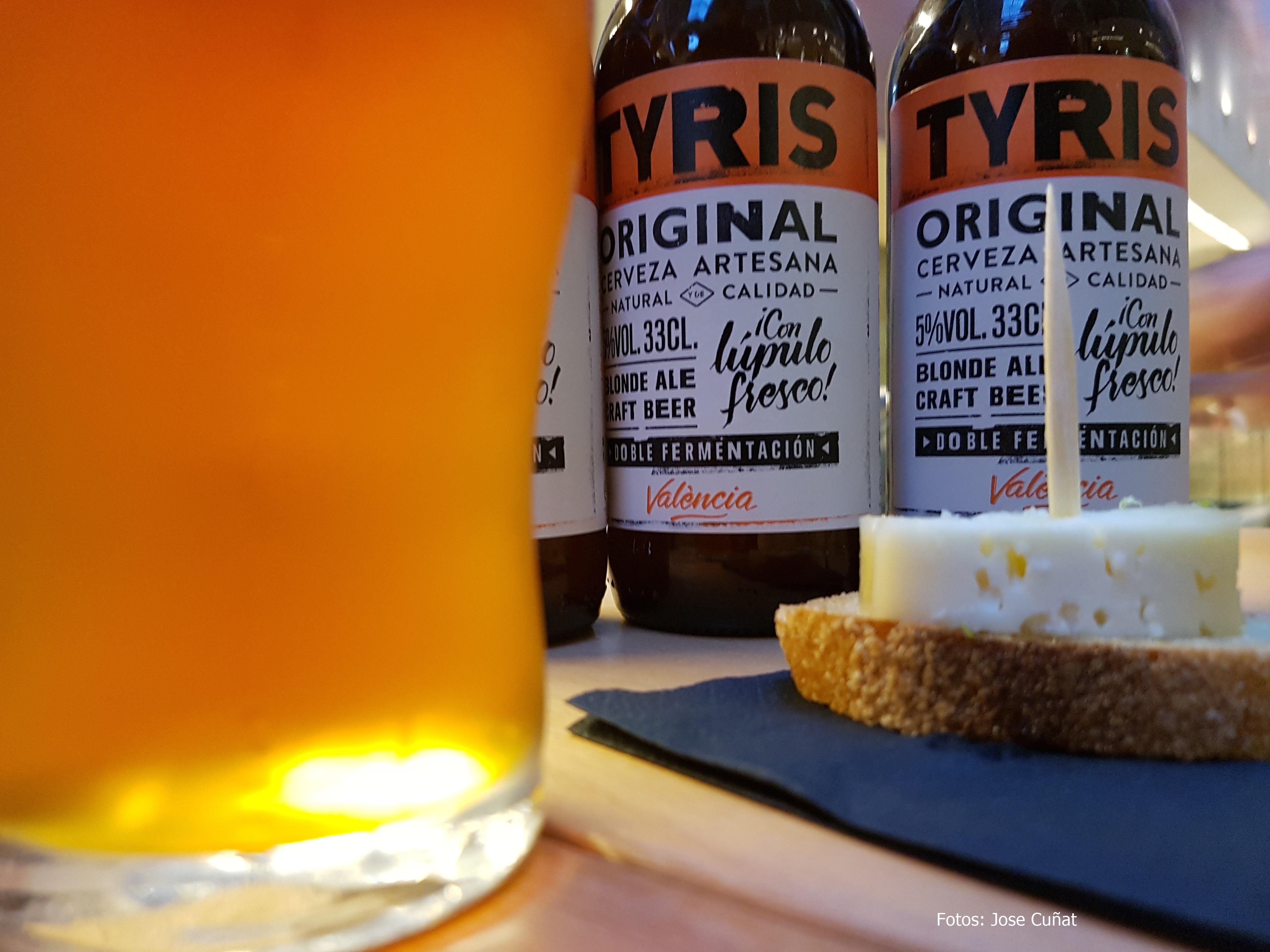 Craft Beer Day con la cerveza artesana Tyris y Las cervezas del Mercado
