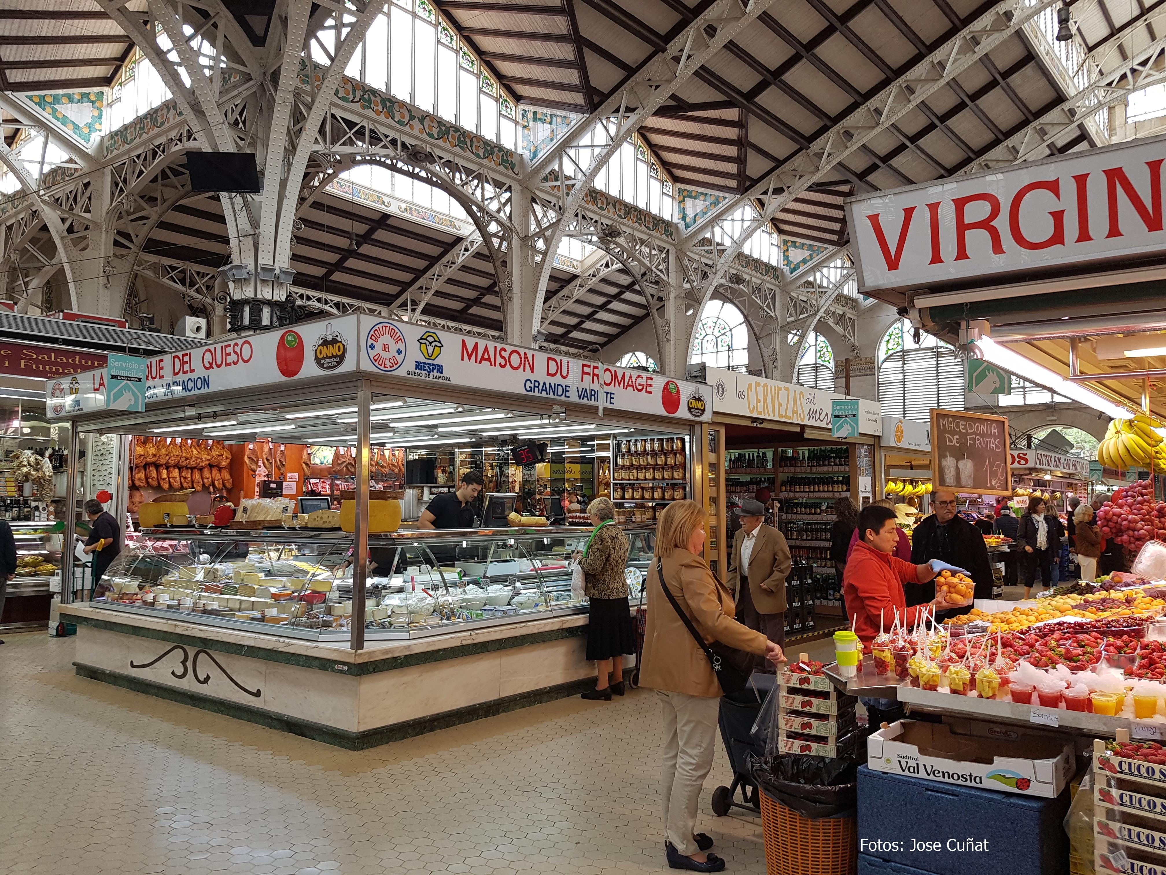 #100AnysFentMercat el Mercado Central de Valencia gradecerá los 100 años vividos como Mercado