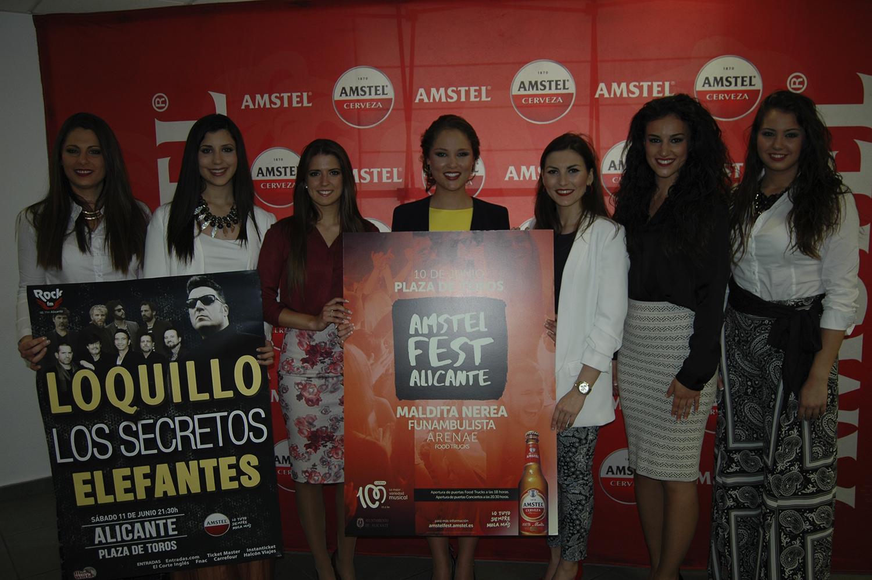 Amstel maridará gastronomía y música en el nuevo Amstel Fest Alicante