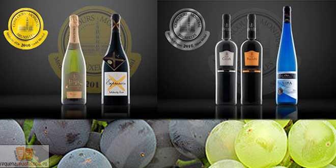 Murviedro consigue palmarés para sus vinos en el Concurso Mundial de Bruselas