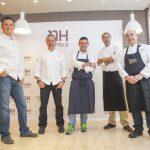 El menú de cinco chefs con estrella Michelín