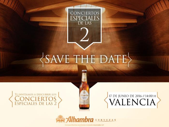 """Cervezas Alhambra continúa con una nueva edición de los """"Conciertos Especiales de las 2"""""""