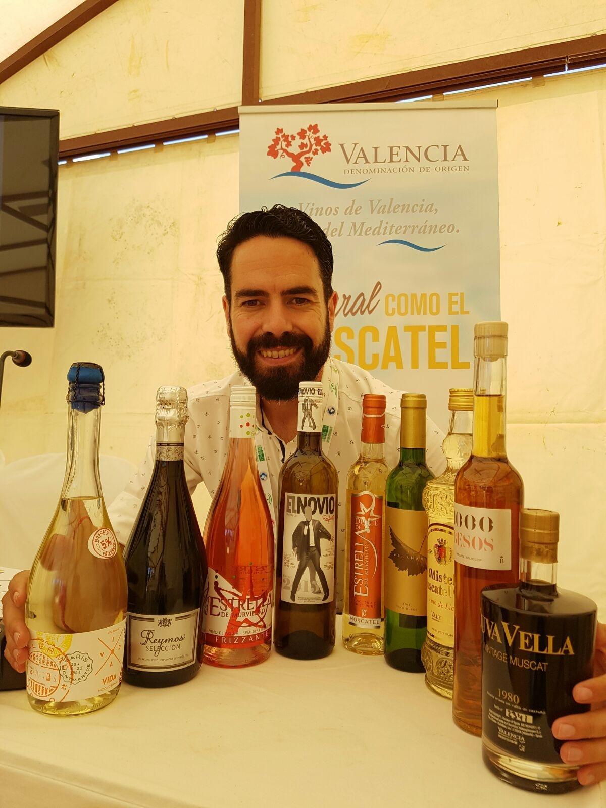 Bruno Murciano, ha destacado la versatilidad de los moscateles de la DOP Valencia