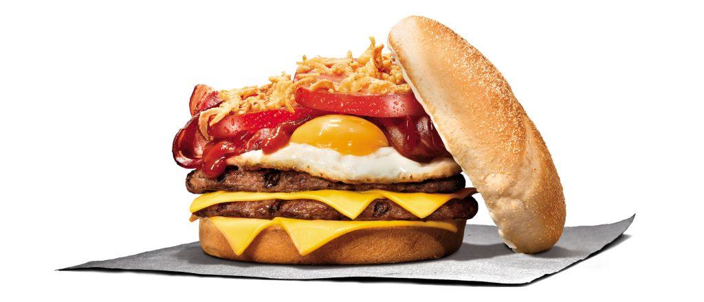 BURGER KING® lanza THE KING BURGER, su primera hamburguesa con huevo